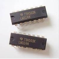 LM324N, ОУ общего применения DIP14, фото 1