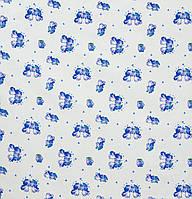 Ситец детский Собачки синий