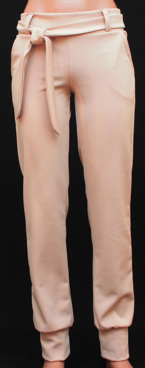Женские брюки беж