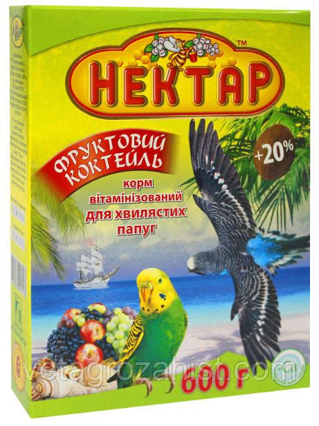 Корм для попугаев Лори нектар «Фруктовый» 600 г