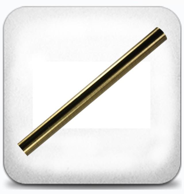 Труба гладкая 25 мм 2,0 м, антик
