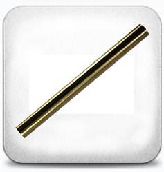 Труба гладкая 16 мм 1,6 м, антик