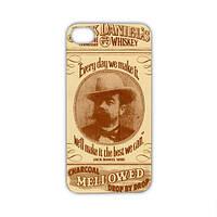 Чехол для iPhone 5/5S Jack Daniel's - кофейный
