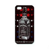 Чохол для iPhone 5/5S Jack daniel's - червоний