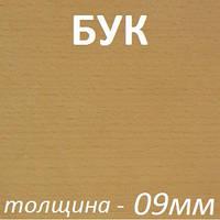 Фанера шпонированная 2500х1250х9мм - Бук (2 стороны)