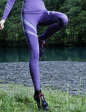 Термолеггинсы женские Gatta Leggins Women 02 (женское термобелье, бесшовное, дышащее), фото 3