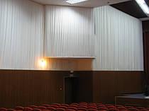 Драпировка стен Негорючими тканями (Trevira CS). Концерт-Холл 6