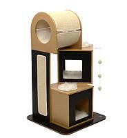 Когтеточка Hagen Vesper V-Tower Black для кошек, 65 х 65 х 117,5