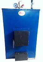 Пиролизный котел длительного горения ПРО-М 25кВт. Срок горения 12 часо