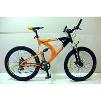 """Горный двухподвесный велосипед Azimut Scorpion 26""""197B+"""