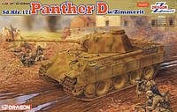 Sd.Kfz.171 Panther D w/Zemmerit 1/35 DRAGON 6428