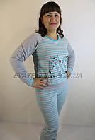 Пижама женская брюки кофта длинный рукав IREN MODA