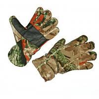 Перчатки флисовые Tagrider 1062 КМФ L