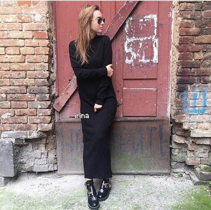 b2177677b87 Купить Длинное платье на зиму в Николаеве от компании