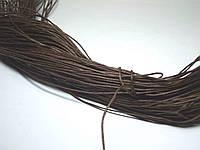 Вощеный шнур темно-коричневый.