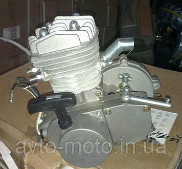 Веломотор F80 двигун на велосипед зі стартером