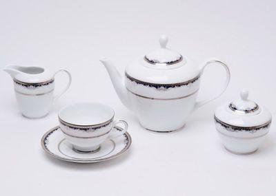 Сервиз чайный Betta DPL Cler Platina 6/17 5099
