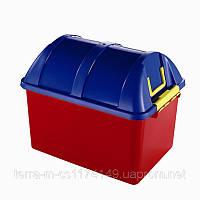 """Ящик пластиковый, пищевой """"Клипбокс""""  на 38л, 52*36,5*40см, фото 1"""