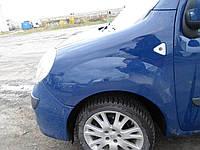 Крило переднє в кольорі Крыло переднее Renault Kangoo Рено Канго 2