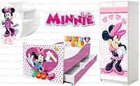 Кровать Минни Маус Дисней для девочки купить недорого http://кровать-машина.com.ua/ БЕСПЛАТНАЯ ДОСТАВКА! Мебель Минни Маус под заказ! Гарантия, качество от производителя!