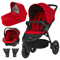 Коляска 3в1 BRITAX B-MOTION 3 Flame Red