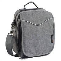 Городская практичная сумка Caribee Global Organiser (L) Charcoal Distress 923415 серый