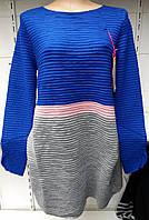 Туника-платье женская батальная