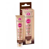 Dermacol SUN Cream Крем для загара для лица SPF 30 с бальзамом для губ SPF 30