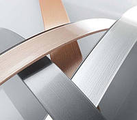Кромка мебельная ПВХ Polkemic металлик