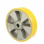 Колеса из алюминия с ошинковкой из полиуретана Norma без кроншт. с шарик.подшØ80-250мм
