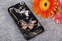 Чехлы для iPhone 5 5S Бабочки Swarovski, фото 1