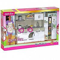 Кукла Defa Хозяюшка с кухонным гарнитуром 6085