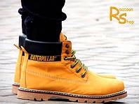 Зимние мужские кроссовки CAT COLORADO Mustard
