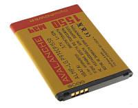 АКБ Avalanche LG BL-44JN (P970/ A290/ C660/ E400/ E405/ E425/ E510/ E610/ P690/ P692/ P698/ E730) 1550 mAh
