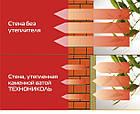 ТЕХНОФАС 100 мм Утеплитель ТехноНиколь (Sweetondale) для штукатурного фасада, фото 4
