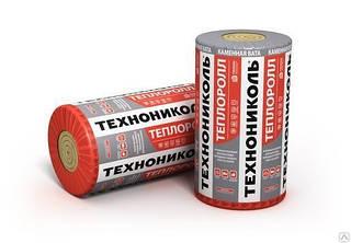Мат Теплоролл 100 мм Утеплитель ТЕХНОНИКОЛЬ для скатной кровли и полов по лагам