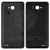 Задняя крышка батареи для мобильного телефона Fly IQ4403 Energie 3, черная, original, #314201338