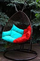 Двухместные подвесные кресло качели