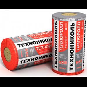 Мат Теплоролл 50 мм Утеплитель каменная вата (минвата) ТЕХНОНИКОЛЬ для скатной крыши, потолка, пола