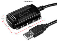 USB адаптер SATA IDE 3в1