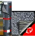 Рубероид Биполь ЭКП верхний слой с посыпкой (сланец серый)