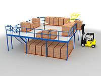 Мезонины для хранения и комплектации заказов