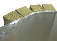 Мат ламельный фольгированный (кашированый фольгой) ТехноНИКОЛЬ 35 10000х1200х50  Утеплитель, базальтовая вата