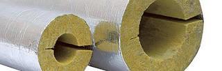 Утеплитель минвата для труб цилиндр (скорлупа) фольгированный