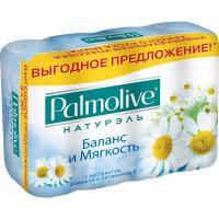 Мило Palmolive Натурель Баланс и мягкость 4x90 г (8693495045544)