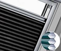 Теплосберегающая штора-плиссе VELUX (Велюкс) аксессуары для мансардных окон