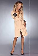 Роскошный халат Daniella Livia Corsetti L/XL, молочный