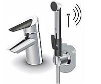 Смеситель для раковины ORAS OPTIMA 2703F с термоблоком и ручным душем Smart Bidetta