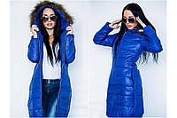 Женская  зиняя куртка  подобного типа Монклер