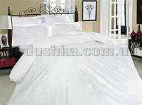 Постельное белье Altinbasak Sehrazad beyaz Двуспальный евро комплект
